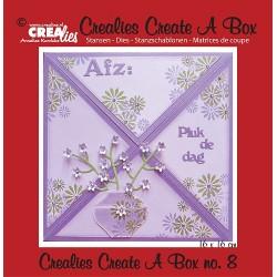 Crealies Create A Box no. 8 Card box