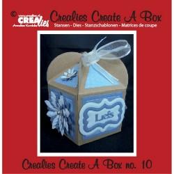 Crealies Create A Box no. 10 Fantasy box