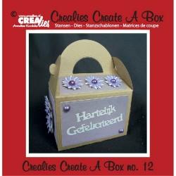 Crealies Create A Box no. 12 Box with handle