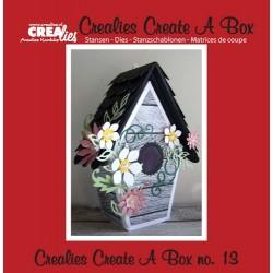 Crealies Create A Box no. 13 Birdhouse