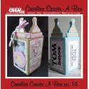 Crealies Create A Box no. 14 Baby bottle