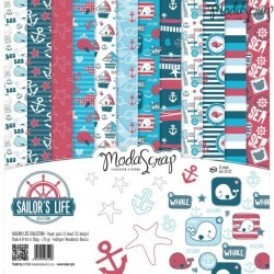 Paper pack Modascrap SAILOR'S LIFE 30,5x30,5cm
