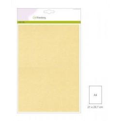 Carta Perlata x10 fogli A4 250gr cream