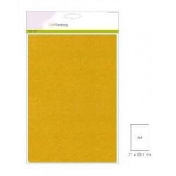 Carta Perlata x10 fogli A4 250gr gold