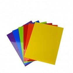 Shrink plastic colori assortiti A4 6 colori x1 foglio