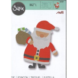 Sizzix Bigz L Die - Babbo Natale e regali