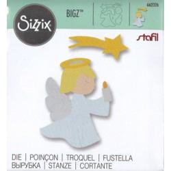 Sizzix Bigz Die - Angelo con candela