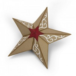 Sizzix Bigz Die - Christmas Star, 3-D