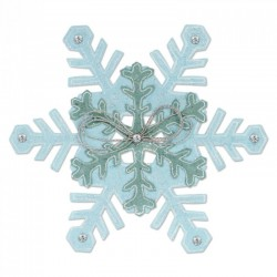 Sizzix Bigz L Die - Snowflakes