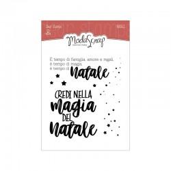 Clear Stamps Modascrap Magia del Natale