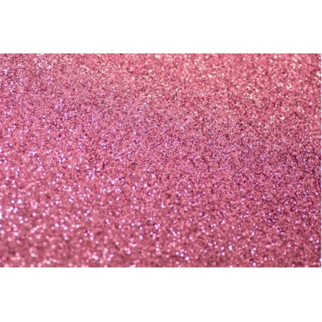 Foglio Gomma Crepla Glitter Rosa