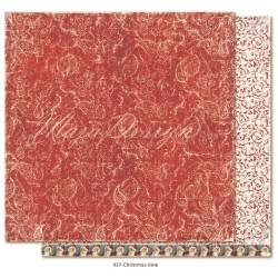 """Carta Maja Design 12""""x12"""" Joyous Winterdays - Christmas time"""