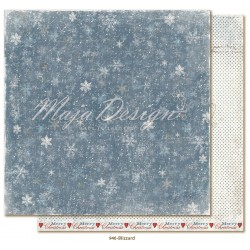 "Carta Maja Design 12""x12"" Joyous Winterdays - Blizzard"