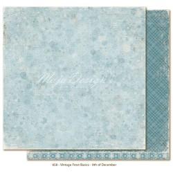 "Carta Maja Design 12""x12"" Vintage Frost Basics - 9th of Dec"
