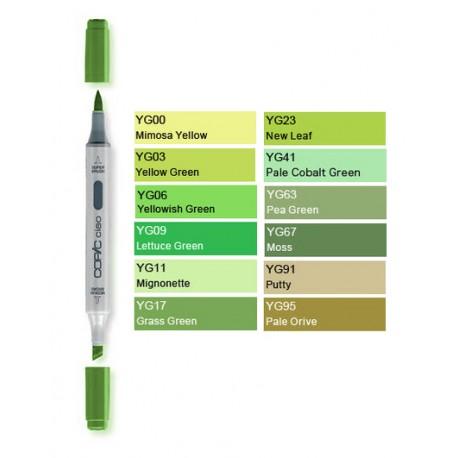 Pennarelli Copic Ciao YG  (Yellow-Green)
