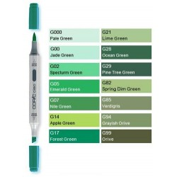 Pennarelli Copic Ciao G  (Green)