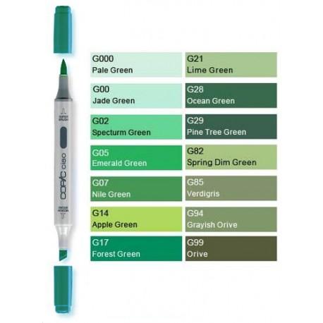 Lime Verde Copic G21 Pennarello Ciao
