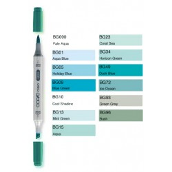 Pennarelli Copic Ciao BG (Blue-Green)