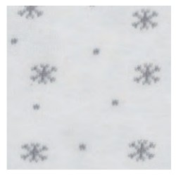 Tubolare Fiocchi di Neve panna/grigio 100cmx8cm