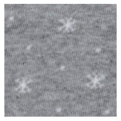 Tubolare Fiocchi di Neve grigio/panna 100cmx8cm