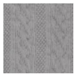 Tubolare Treccia grigio 100cmx8cm