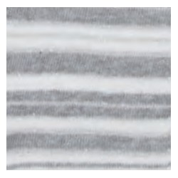 Tubolare righe glitter grigio/panna/argento 100cmx8cm
