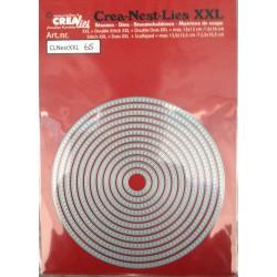 Crealies Crea-nest-dies XXL no. 65