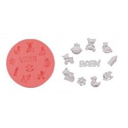 Stampo di silicone piedini