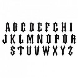 Bigz XL Alphabet Die - Gothic