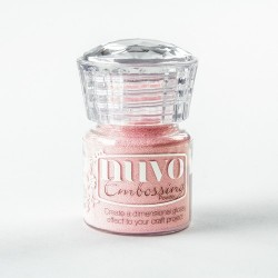 Nuvo embossing powder - Polvere da embossing ballerina pink