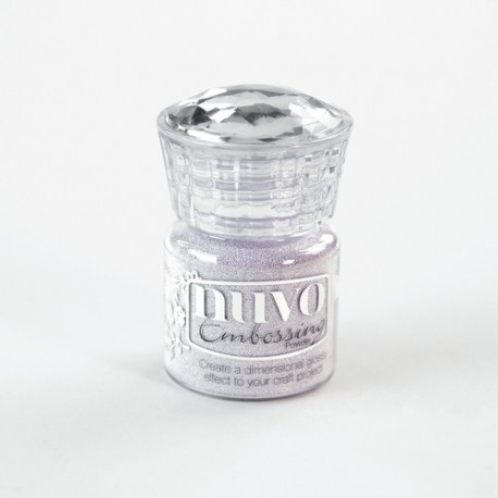 Nuvo embossing powder - Polvere da embossing soft lilac