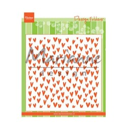 Marianne Design design folder Trendy hearts