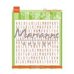 Marianne Design design folder ABC