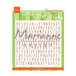 Marianne Design design folder ABC