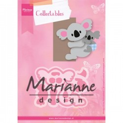 Marianne Design Collectables Eline`s koala & baby COL1448