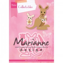 Marianne Design Collectables Eline`s kangaroo & baby Col1446