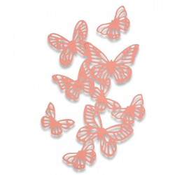 Sizzix Thinlits Die Set 3PK - Butterflies