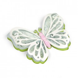 Sizzix Thinlits Die Set 3PK - Large Delicate Butterfly