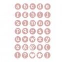 Sizzix Thinlits Die Set 35PK - Dainty Lowercase