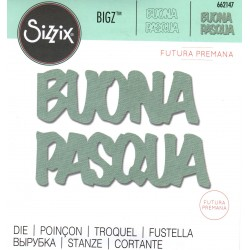 Sizzix Bigz Die - Buona Pasqua