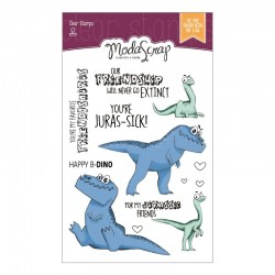 Clear Stamps Modascrap DINO LAND 1