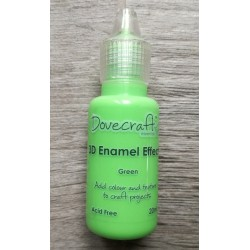 Dovecraft 3D enamel effects Green
