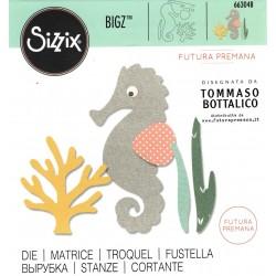 "Sizzix Bigz Die  ""Futura Premana"" - Mare"