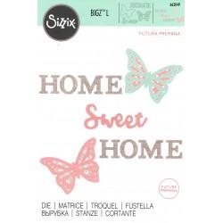 "Sizzix Bigz L Die  ""Futura Premana"" - Casa Dolce Casa"