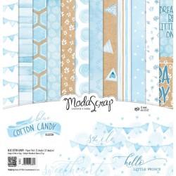 Paper pack Modascrap Blue Cotton Candy 30x30cm