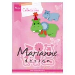 Marianne Design Collectables Eline`s Happy Hippo COL1450