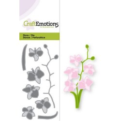 CraftEmotions Die CraftEmotions Die -  Romantic orchid