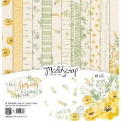 Paper pack Modascrap The Spring Blossom 30x30cm