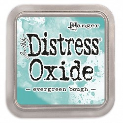Ranger Tim Holtz distress oxide evergreen bough
