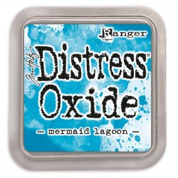 Ranger Tim Holtz distress oxide mermaid lagoon